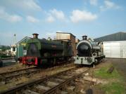 On shed with Portbury (Rob Skuse)