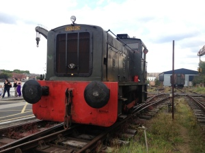 The Ruston diesel shunter