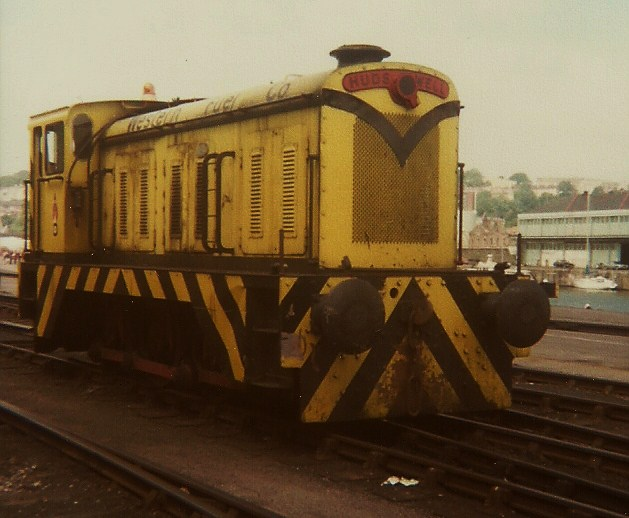 Western Fuels ex PBA 0-6-0 D1171 standing at Wapping Wharf, July 1979 ...