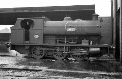 'Ashton' (Peckett 1878 of 1934) at PBA, Avonmouth (side view) 5/4/58
