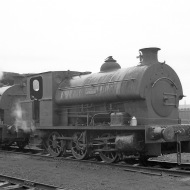 'Brian' (Avonside Engine 1799 of 1918) at PBA, Avonmouth 5/4/58