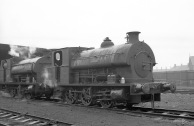 'Brian' (Avonside Engine 1799 of 1918) at PBA, Avonmouth 5/4/58