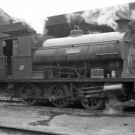 'Fyffe' (Peckett 1721 of 1926) at PBA, Avonmouth 5/4/58