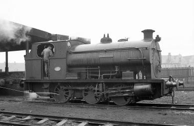 'Hallen' (Peckett 2035 of 1943) at PBA, Avonmouth 5/4/58