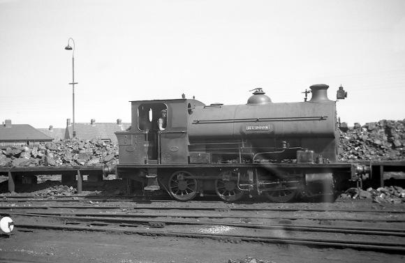 'Hudson' (Avonside Engine 1724 of 1915) at the Port of Bristol Authority, Avonmouth Docks 13/8/49