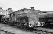 No. S10 'Hallen' (Peckett 2035 of 1943) at the Port of Bristol Authority, Avonmouth 21/7/63 (Courtesy RCTS/Jack Faithfull)