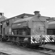 No. S10 'Hallen' (Peckett 2035 of 1943) at the Port of Bristol Authority, Avonmouth 21/7/63 (Courtesy RCTS/Jack Faithfull)