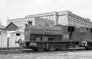 No. S12 'Clifton' (Peckett 2037 of 1943) at the Port of Bristol Authority, Avonmouth 21/7/63