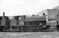 No. S13 'Redland' (Peckett 2038 of 1943) at the Port of Bristol Authority, Avonmouth (side view) 21/7/63
