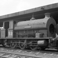 No. S3 'Portbury' (Avonside Engine 1764 of 1917) at the Port of Bristol Authority, Avonmouth 21/7/63