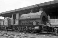 No. S3 'Portbury' (Avonside Engine 1764 of 1917) at the Port of Bristol Authority, Avonmouth 21/7/63