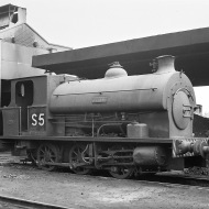 No. S5 'Brian' (Avonside Engine 1799 of 1918) at the Port of Bristol Authority, Avonmouth 21/7/63
