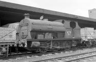 No. S7 'Ashton' (Peckett 1878 of 1934) at the Port of Bristol Authority, Avonmouth 21/7/63