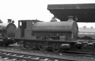 'Percy' (Avonside Engine 1800 of 1918) at PBA, Avonmouth 5/4/58