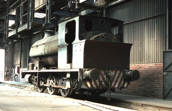 In the shed at Avonmouth docks 14/5/82 (RCTS)