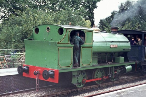 Henbury working on passenger trains at Radstock