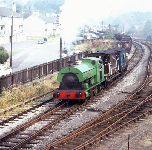 Henbury returning to Radstock North in 1973