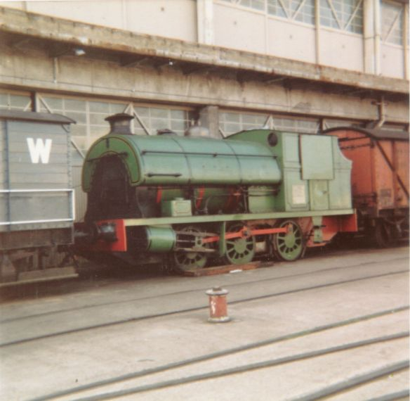 Henbury outside M Shed, before it opened as Bristol Industrial Museum, December 1975