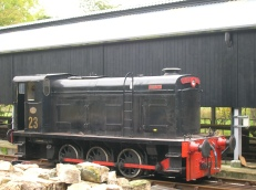 ex-PBA No.23 'Merlin' (D.761) on the KWVR (Helena via Wikipedia)
