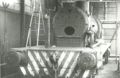 Portbury under restoration in L Shed