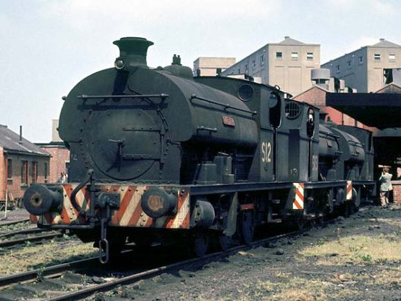 S12 'Clifton' outside the locomotive shed at Avonmouth (copyright Geoff Plumb)
