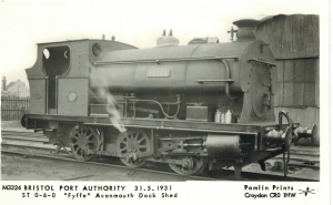 'Fyffe' (Peckett 1721 of 1926)