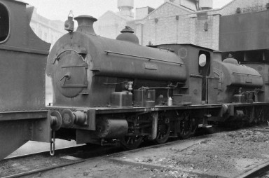 Avonside 'Percy' 8/9/1956 (Courtesy Transport Treasury/Eric Sawford Collection)
