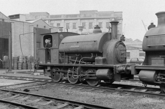 Avonside 'Alfred' 8/9/1956 (Courtesy Transport Treasury/Eric Sawford Collection)