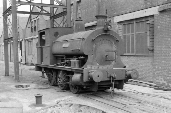 Peckett 'Ronald' 8/9/1956 (Courtesy Transport Treasury/Eric Sawford Collection)