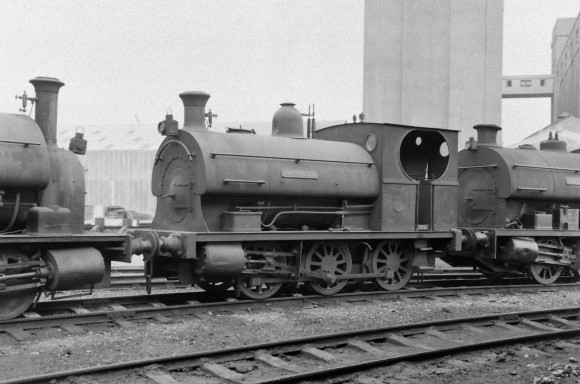 Peckett 'Kenneth' 8/9/1956 (Courtesy Transport Treasury/Eric Sawford Collection)