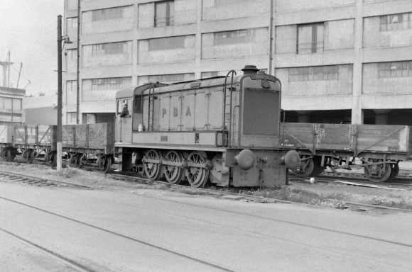Hudswell Clarke D3001 'Tintagel' (Works No.D754) 8/9/1956 (Courtesy Transport Treasury/Eric Sawford Collection)
