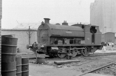 Peckett 'Redland' 8/9/1956 (Courtesy Transport Treasury/Eric Sawford Collection)