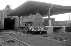 0-6-0ST No.S9 (P1940/1937) at the Port of Bristol Authority, Avonmouth Docks 13/12/64 (Courtesy Roger Hateley/RCTS)