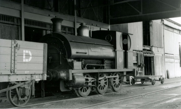 The Port of Bristol Authority Railway 1951 LIONEL Peckett No.466 built 1889 (Courtesy Paul Townsend)