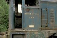 Ex-PBA Hudswell Clarke 'Celidon' in Charleroi Belgium, 1999 - (Copyright Eddie Barnes)