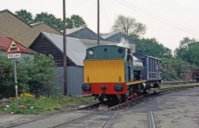 Henbury in April 1985 (Phil Trotter, with thanks)